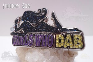 Image of Girls Who Dab GALAXY EDITION Collectable Cloisonné Pin
