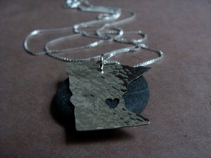 Image of Minnesota State Necklace