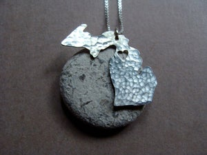 Image of Michigan State Necklace