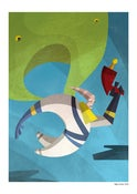 Image of 'Bogey Incoming' A3 Giclee Print