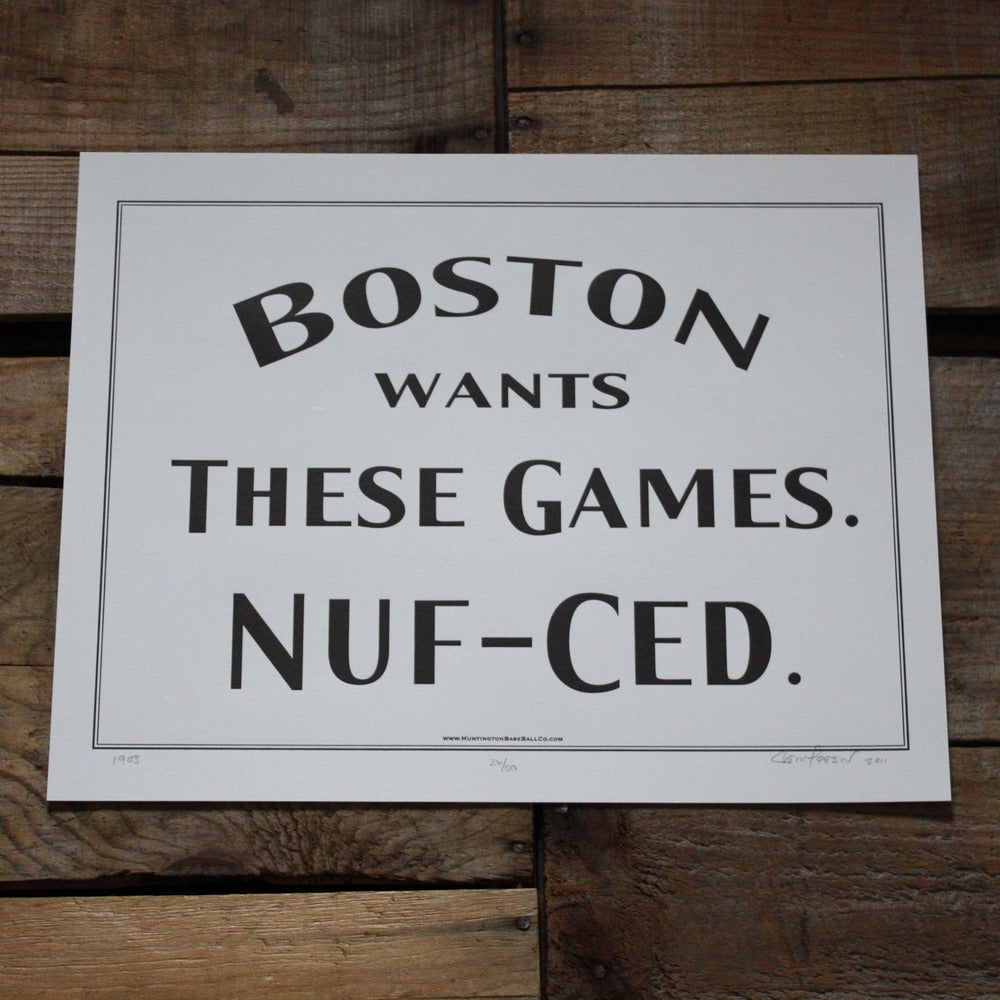 Image of Boston Wants These Games