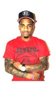 Image of IN HUSH WE TRUST PYRAMID TEE (RED/BLACK)
