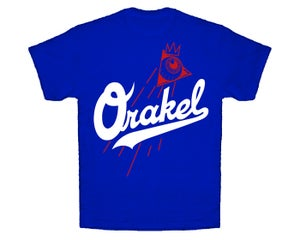 Image of ORAKEL MEN'S DODGER DOG TEE / ROYAL