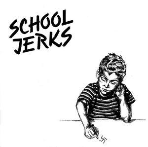 "Image of School Jerks debut 7"""