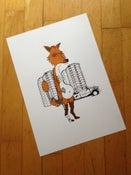 Image of  Gus the Fox Print