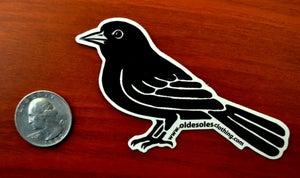 "Image of ""Black Bird"" Sticker"