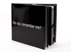 Image of Do you remember me? (2009) </br> By Julia Riddiough </br> Limited Edition Artists' Book