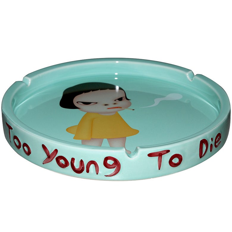 Image of Yoshitomo Nara Ashtray - Too Young to Die