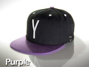 Image of Purple snap back cap