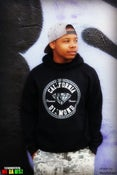 Image of #CALIDIAMOND BLACK HOODIE EXCLUSIVE ,,WHAT ?