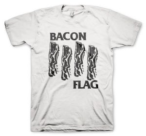 Image of Bacon Flag White