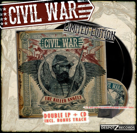 Image of Civil War - The Killer Angels package 2 [2 VINYL/CD]
