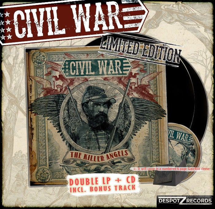 Image of Civil War - The Killer Angels package 2 [2 VINYL/CD]