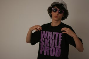Image of WhiteSkull Prod tee