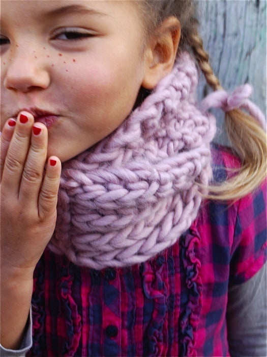 """Image of Snood """"Little Lou"""", alpaga & laine"""
