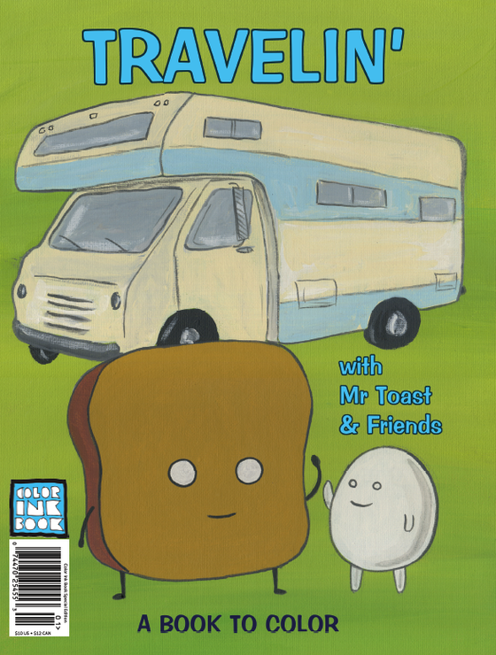 Image of Travelin' with Mr. Toast & Friends Special Edition