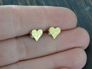 Image of Tiny Hammered Hearts