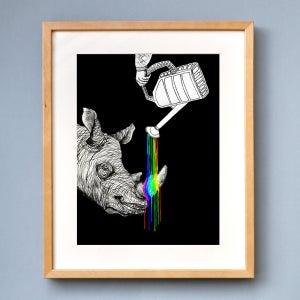 Image of Rhino - Limited Edition Print