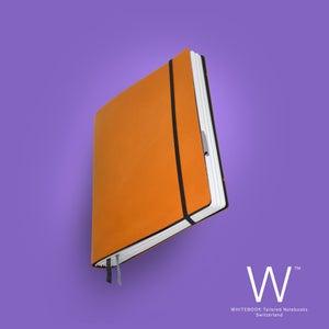 Image of Whitebook Standard S043, cut boxcalf, Hermes orange, 240p. (fits iPad / Air / Mini / Samsung)