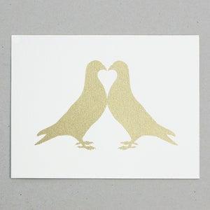 Image of Pigeon Fancier Gold print