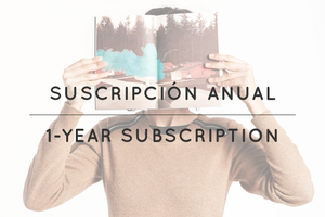 Image of suscripción anual / 1 year subscription