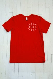 Image of MEN'S GEAR T-SHIRT IN RED