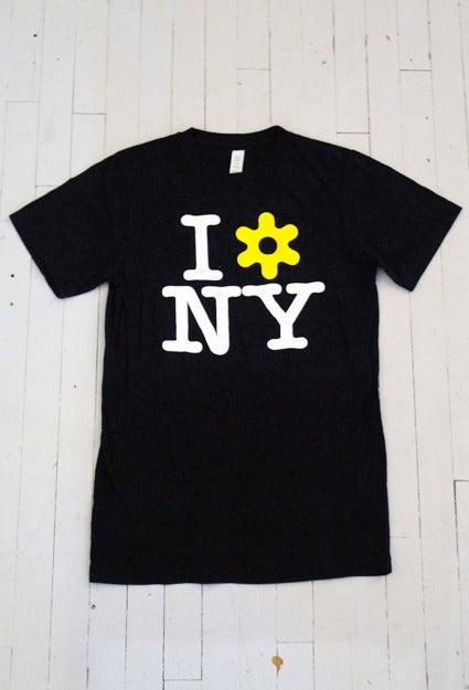 Image of MEN'S I LOVE NY T-SHIRT IN BLACK