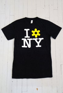 Image of MEN'S I LOVE NY T-SHIRT IN BLACK