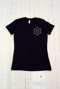 Image of WOMEN'S GEAR T-SHIRT IN BLACK