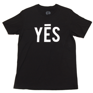 Image of Yes Tee (Black)
