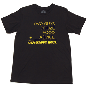 Image of Happy Hour Tee (Black)