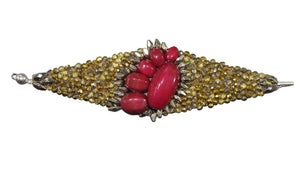 Image of Bracelet Chiara gold pink