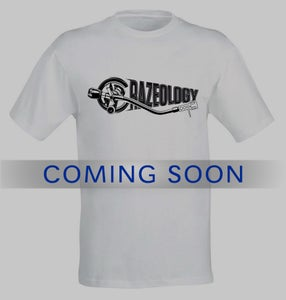 Image of t-shirt white - Crazeology Logo
