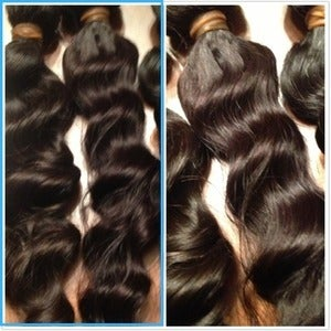 Image of Peruvian Wavy Authentic Virgin Hair