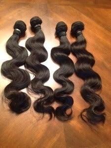 Image of Brazilian Wavy Virgin Hair