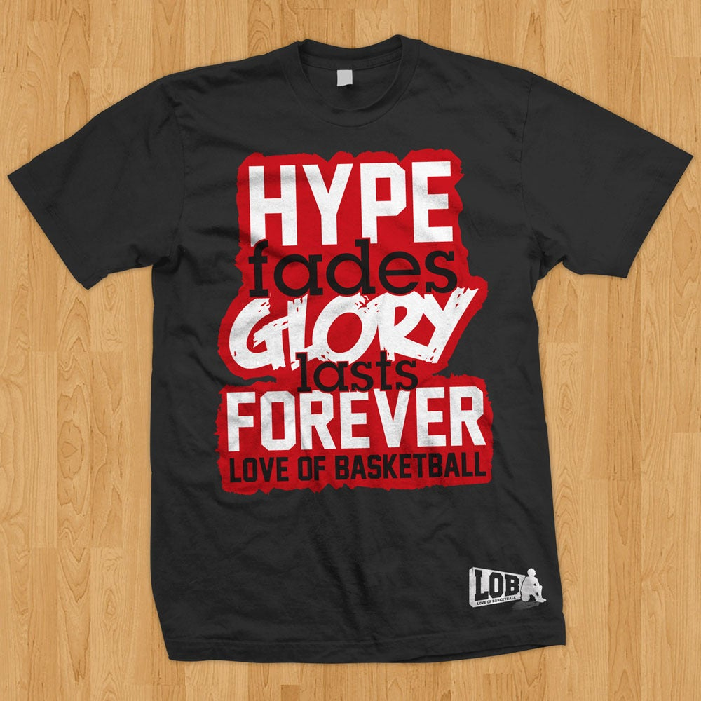 """Image of """"Hype Fades"""" Tee (Black)"""