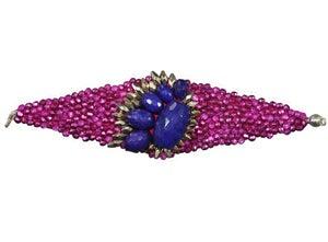 Image of Bracelet Chiara pink blue