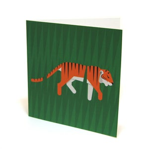 Image of Tiger Card