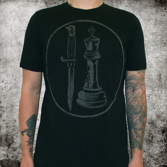 Image of City of Thieves (band) Logo 50/50 - unisex - discharge ink