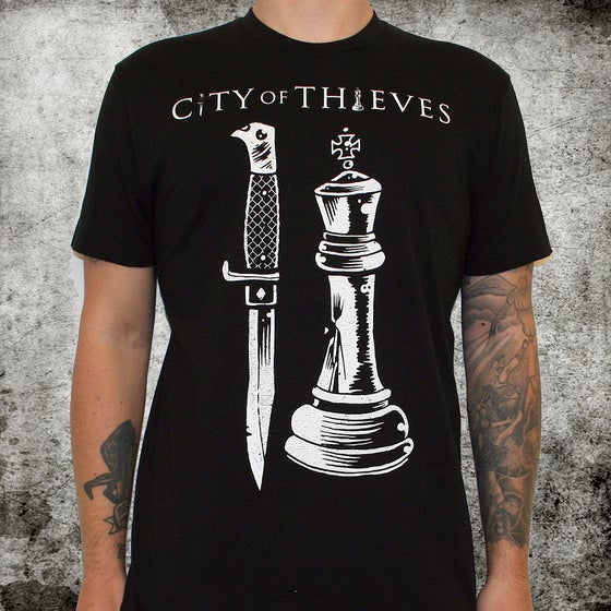 Image of City of Thieves (band) name & logo 100% cotton - unisex - discharge ink