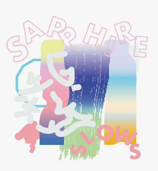 "Image of SAPPHIRE SLOWS ""SAPPHIRE SLOWS"" CD"