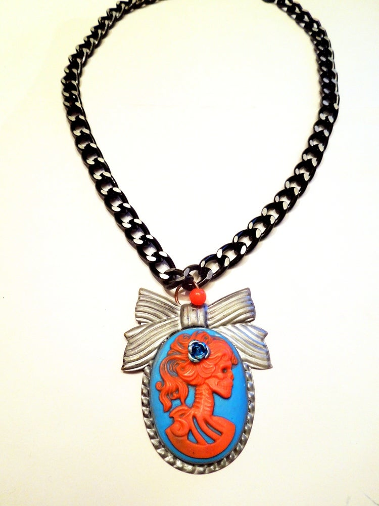 Image of Turquoise Lady of Death Necklace