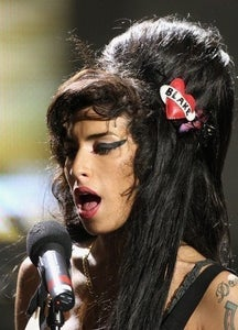 Image of Personalised Heart Brooch/Necklace As Seen On Amy Winehouse