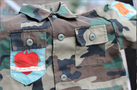 Image of Comandante Frida! Camo Jacket