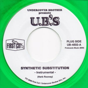 """Image of Synthetic Substitution - 7"""" Limited Color Vinyl"""