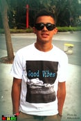 Image of #GOODVIBES WHITE #CLASSIC TSHIRT
