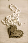 Image of Starry Hearts Necklace