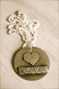 Image of Circle of Love Necklace