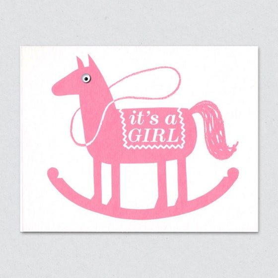 Image of Rocking Horse, girl