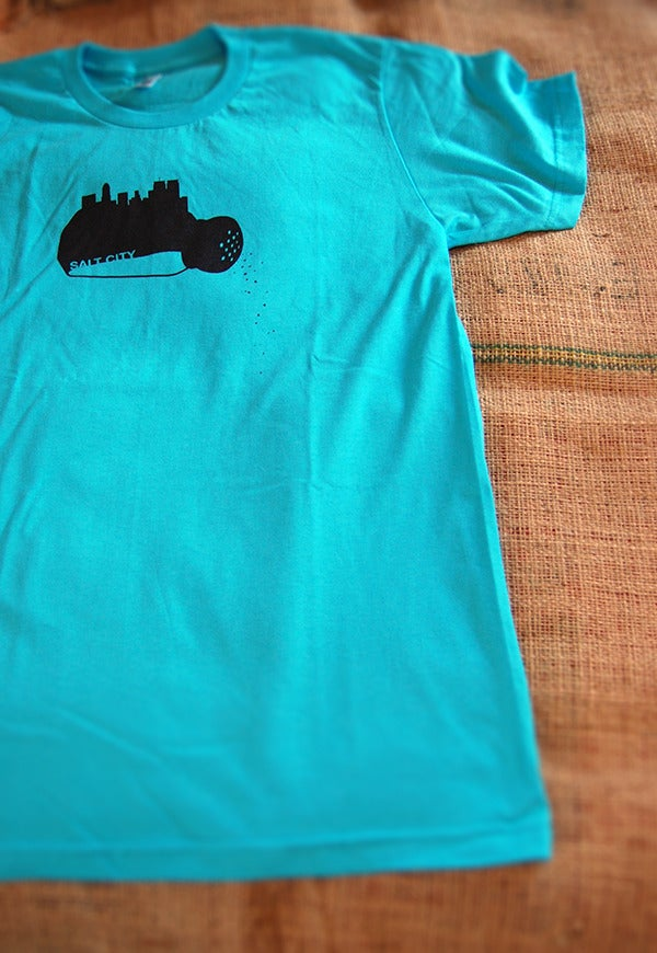 Image of unisex salt city T-shirt